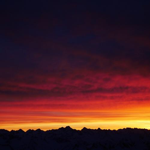 Last light Pic Du Midi
