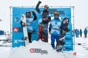 Podium Hommes Snowboard - ©Dom Daher
